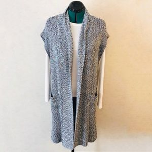 Cabi Love Carol Napa Vest Sweater Cardigan #3165